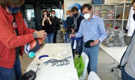 Встреча Мэйкеров против Covid Краснодара с журналистами