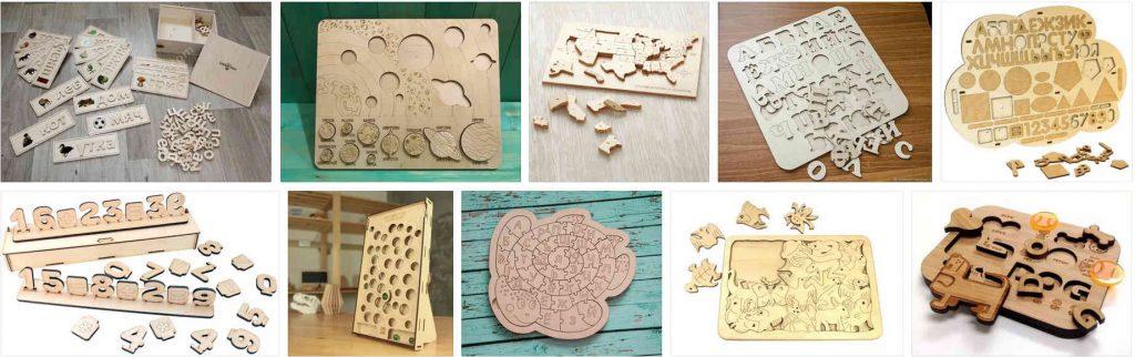 Детские деревянные игры