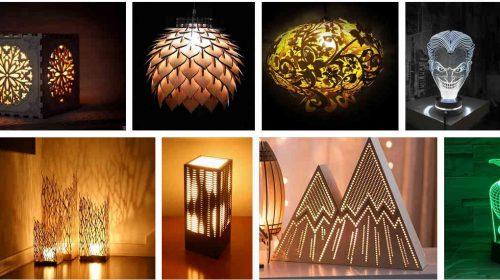 Лампы на лазере
