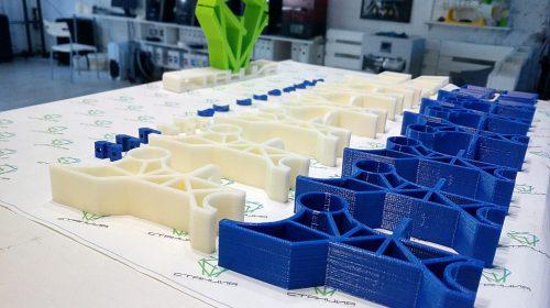 Серыйные детали, печатаемые на 3D-принтере